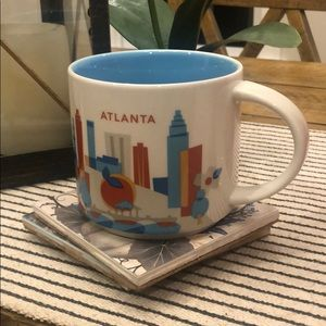 Starbucks You Are Here Atlantic collector mug